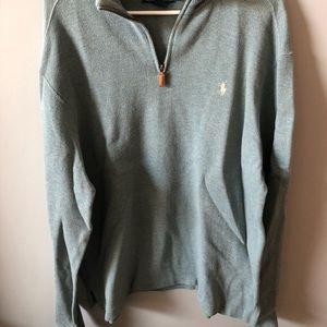Sweater, Polo , sage green
